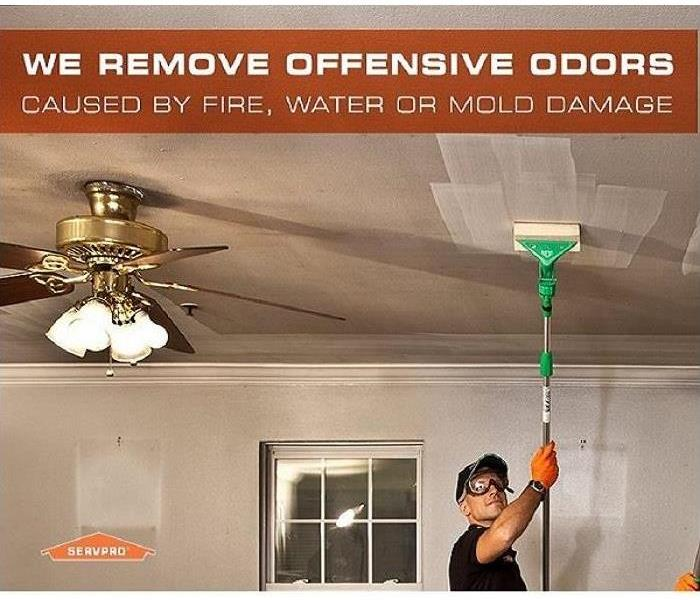 Cleaning Deodorization Destroys Odors